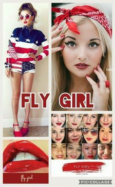Fly Girl is such a bold color.  Makes you feel confident! Great with glossy or matte!
