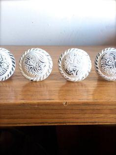 Shabby Chic blanc bouton  bouton décoratif  par honeywoodhome