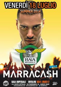 Marracash in concerto alla Baia Imperiale per una serata memorabile