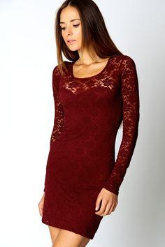 Long Sleeve Bodycon Dress