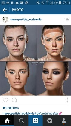 Extremely contouring
