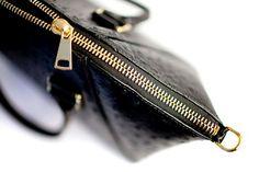 zip detail on Marchesa.www.pedicollections.com Rebecca Minkoff Mac, Marchesa, Luxury Handbags, Pedi, Leather Handbags, Zip Around Wallet, Collections, Detail, Fashion