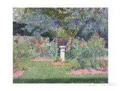 The Garden at Hertingfordbury, 1908 Gore