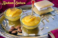 A decadent Badam Halwa perfect to celebrate any special occasions like Diwali. Easy to make and needs just some almonds and sugar along with flavorings.