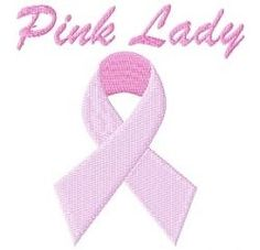 FREE! Pink Lady - 4x4 | Cancer Awareness | Machine Embroidery Designs | SWAKembroidery.com Tyme 2 Stitch