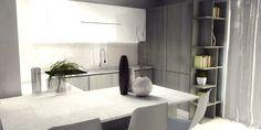 Una mansarda di nuova costruzione: un progetto d'arredo per sfruttare bene lo spazio