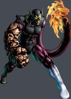 The Super-Skrull (Kl'rt) - Marvel Comics