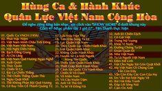 ☰ Việt Nam Cộng Hòa ☰ ❀ 47 Hùng Ca ❀ Hành Khúc ❀ ( 3 giờ 07' )