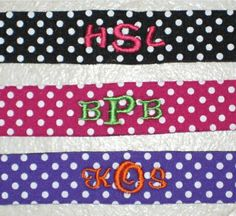 Monogrammed Croakies Sunglass Straps 20+ Colors!