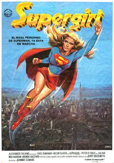1984's Supergirl showed more...prowess...in her Spanish posters