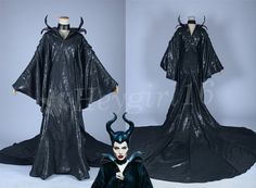 Top New 2014 Black Maleficent Cosplay Costume by HeyGirl16 on Etsy, $169.99