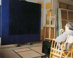Mark Rothko in his NY Studio