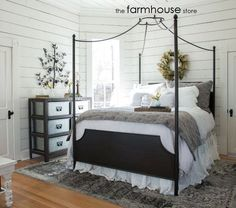 If you like Joanna Gaines and Fixer Upper, then you'll love the Magnolia Homes canopy bed! With clean lines and sturdy character, it will surely be the highlight of your room. We are selling the frame from the store at 20% off. It's a queen size and is now only $551.99! Wow!  http://www.facebook.com/thefarmhousestoreprinceton