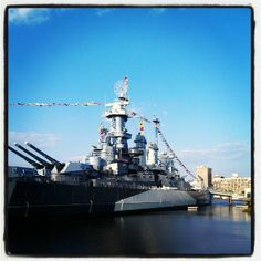 The USS North Carolina is an interesting piece of U.S. history that floats on the Cape Fear River. In the summer, classic films are shown on the deck (bring your bug repellent!), but it's a great place to visit year around. The museum inside showcases the ship's role in World War II and is also home to archival collections of rare and unique materials relating to the ship and its former inhabitants.