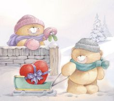 #foreverfriends #teddy #winter