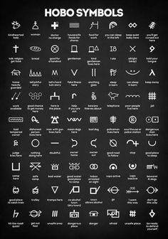 Tattoos Discover Hobo Symbols Art Print featuring the digital art Hobo Signs by Zapista OU Hobo Symbols Alphabet Symbols Alchemy Symbols Magic Symbols Symbols And Meanings Ancient Symbols Viking Symbols Glyphs Symbols Alphabet Wall Hobo Symbols, Magic Symbols, Symbols And Meanings, Ancient Symbols, Viking Symbols, Viking Runes, Viking Rune Tattoo, Religious Symbols, Egyptian Symbols
