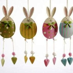 Easter bunny decorations!