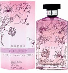 """Stella McCartney's scent called: """"Sheer"""" accolades and exquisite scent. Rich, sassy & simply tantalizing!"""