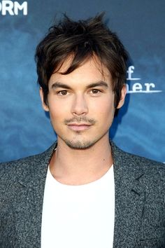 Tyler Blackburn arriving at the premiere of 'Pretty Little Liars' season 7 and 'Dead of Summer' at Hollywood Forever Cemetery (June 15th, 2016)