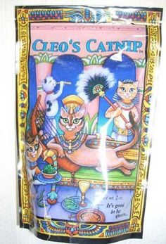 Cleos Catnip  Premium Organic Flower  Leaf 2 oz * Click image to review more details.(This is an Amazon affiliate link and I receive a commission for the sales)