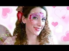 Valentines Day Princess Face Paint Design Video—Face Painting Tips Shop
