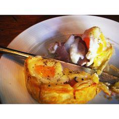 Egg n ham pie