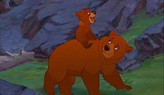 kenai brother bear | Structural Symmetry in Brother Bear