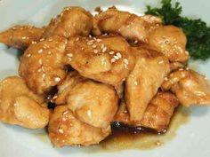 鶏ムネ肉(or鶏ササミ)の甘辛レモン炒めの画像