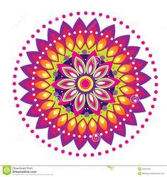 Mandala Designs Flower Flower Pattern Mandala Royalty