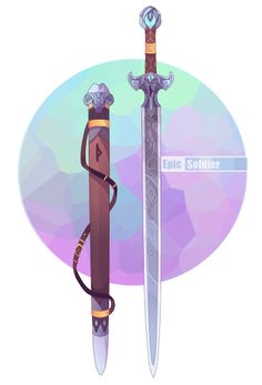 Weapon commission 86 by Epic-Soldier.deviantart.com on @DeviantArt