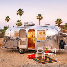Childhood vacations spent in an Airstream camper