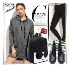 """""""ROMWE 17"""" by melissa995 ❤ liked on Polyvore"""