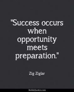#success occurs when opportunity meets preparation! www.startmesh.com