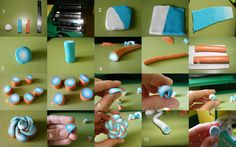 Tutoriale Handmade * Arts & Crafts *: 2. Lut polimeric