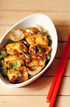 chilli paneer dry recipe, how to make dry chilli paneer recipe