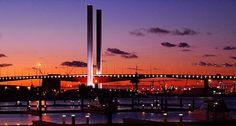 The Bolte Bridge in Melbourne