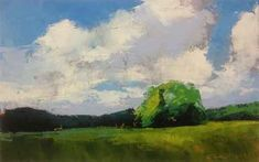 "great clouds......""Tree Island"" -  Mary Gilkerson"