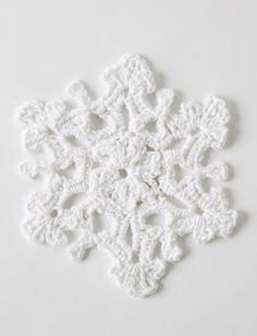Yarnspirations.com - Bernat Twinkling Snowflakes - Patterns | Yarnspirations