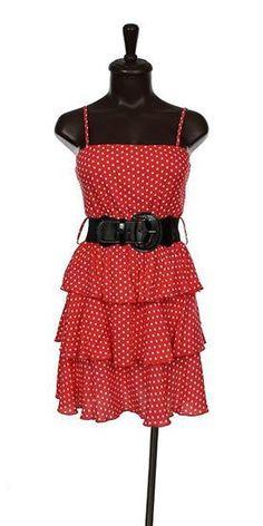 Red and White Polka Dot Dress. $39.99
