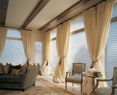 Top 10 Window Treatments this September Flowy In love with these curtains!