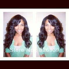 In Stock Virgin Brazilian Wavy Human Hair u part Wigs, All Length 130%-150% Density Free Shipping