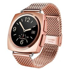 Generic A11 Metal Strap Bluetooth Smart Watch, Heart Rate / Pedometer / Sleep Monitor / Sedentary Reminder / Camera Remote Control(Rose Gold). Smart Electronics. Smart Watches. Wearable Technology. Cell Phones & Accessories. Smart Wearable.