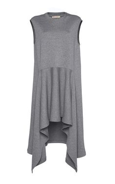 Draped Double Faced Wool Dress by MARNI for Preorder on Moda Operandi Hijab Fashion, Boho Fashion, Fashion Dresses, Womens Fashion, Fashion Design, Marni Dress, Mode Hijab, Wool Dress, Knit Dress
