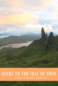 A guide to the Isle of Skye. I tell you about what to see, like the Old Man of Storr, Fairy Glen, Fairy Pools, Kilt Rock, Mealt Waterfall, Neist Point, Portree and Brother's Point. I also tell you about the best campsites on Skye.