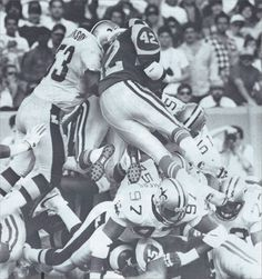 Goal Line Stand! New Orleans Saints Defense Stops Rams in 1988 Upset