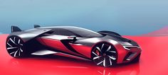 What if Range Rover Designed a Supercar?Final Major Project at Coventry University