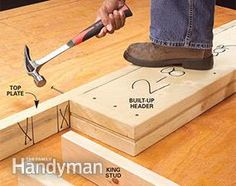 Fool-Proof Wall Framing Tips for New Construction - Ian Hanson Framing Construction, Diy Home Repair, Diy Shed, Home Repairs, Diy Wood Projects, Wood Crafts, Basement Remodeling, Bathroom Remodeling, Remodeling Ideas