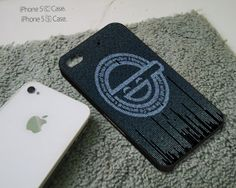 Ghost in The Shell Logo Cover  iPhone 4 4S iPhone 5 by JumatKliwon, $13.99