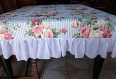 64x87   Table Cloth  Includes six and half inch by EwcHomeDesigns, $55.00