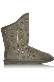 Australia Luxe CollectiveAngel studded shearling ankle boots